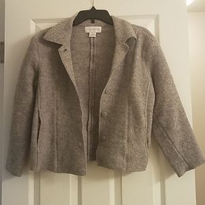 Wool blazer size PM